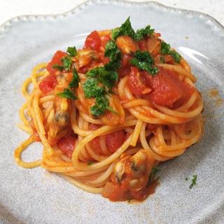 ボンゴレロッソ(あさりのトマトソーススパゲッティ)