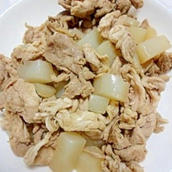 豚肉とこんにゃくの炒め物