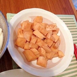 簡単☆たけのこの麺つゆ煮