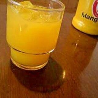 マンゴーオレンジカクテル