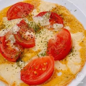 トマト&チーズの簡単オムレツ♪