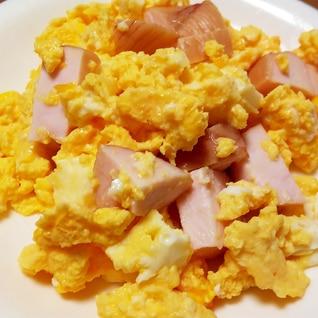 鶏肉入り炒り卵