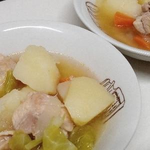 簡単♪煮込むだけ野菜と鶏肉のポトフ