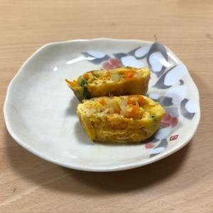 お弁当にオススメ♡玉子丼風味の卵焼き