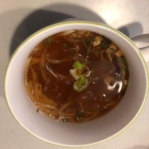 にんじんと大根のはるさめスープ
