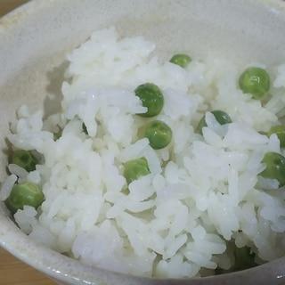 お塩の加減がちょうどいい!豆ご飯