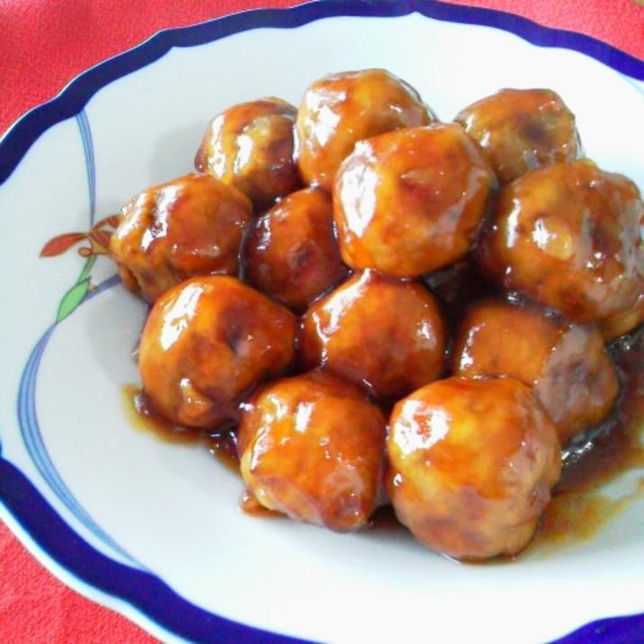 肉団子(揚げない私流)