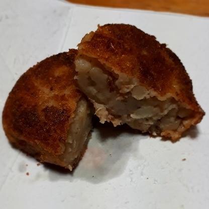 初めまして❣ 肉じゃがリメイク…ノンフライが嬉しくて作らせて頂きました(*^^)v  とても美味しかったです(๑´ڡ`๑)