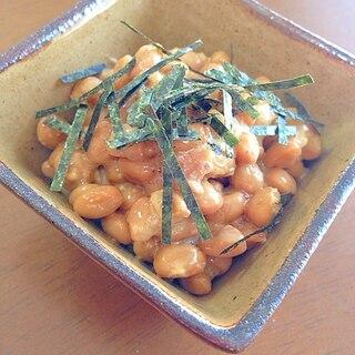 梅干しごま納豆