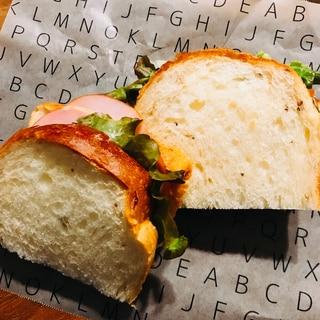 バターなしで!簡単美味しいサンドイッチ♪