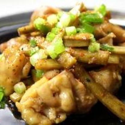 ☆鶏ごぼうの甘辛炒め☆