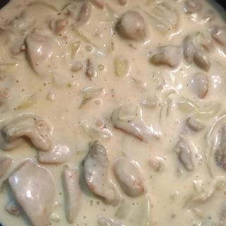 鶏肉のクリーム煮 作り置き