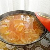 さつまいもの味噌汁