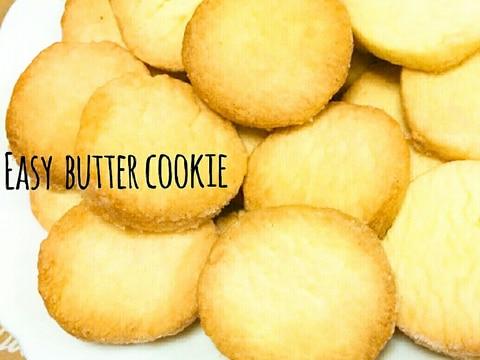 簡単♡基本のバタークッキー♡