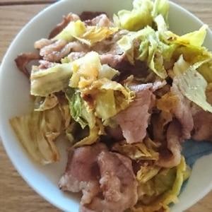 【超簡単】薄切りラム肉のキャベツ蒸し