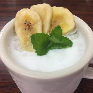 バナナのミルクプリン