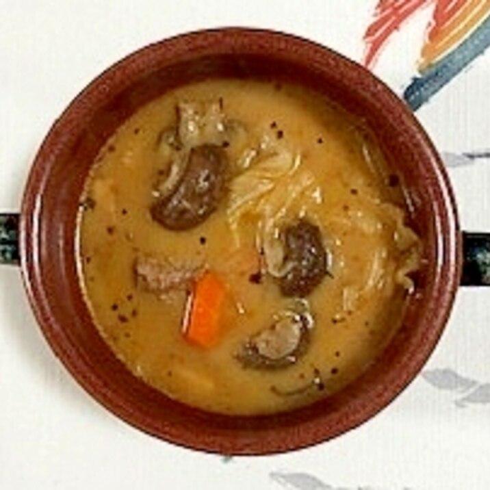 牛スネ肉のスープカレー