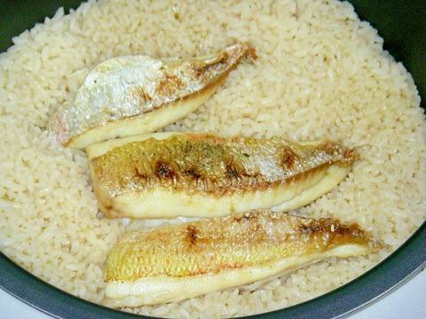 炊飯器に鯛を丸ごとはダメ!美味しい鯛飯を炊くコツ!