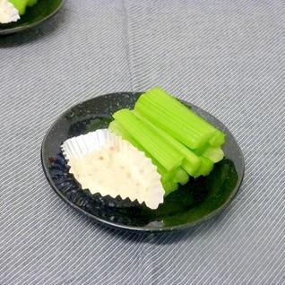 野菜のディップソース 梅にんにくマヨ