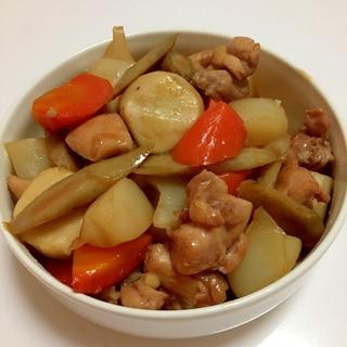 里芋と鶏肉のうま煮♪