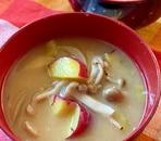 ほっこり★さつま芋のお味噌汁