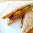 ハンバーグサンドイッチ