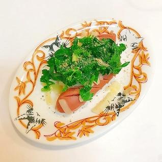 ウインナーとイタリアンパセリのおつまみ☆
