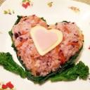お手軽♪バレンタインちらし寿司
