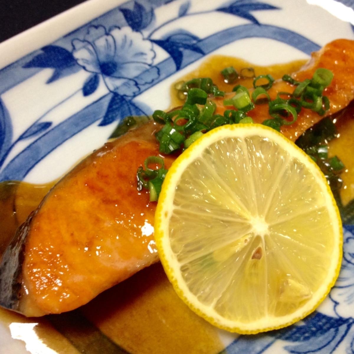 醤油 焼き バター 鮭