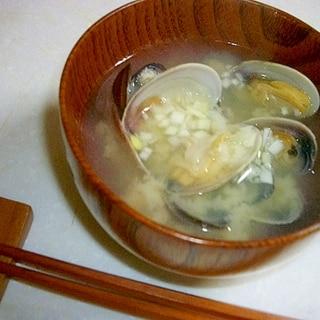 アサリとシジミのお味噌汁