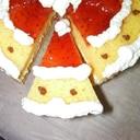 ミニサンタケーキ