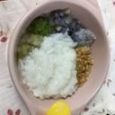 離乳食後期☆野菜たっぷりお粥
