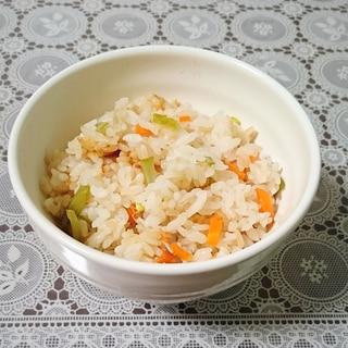 つる豆とえのきの炊き込みご飯