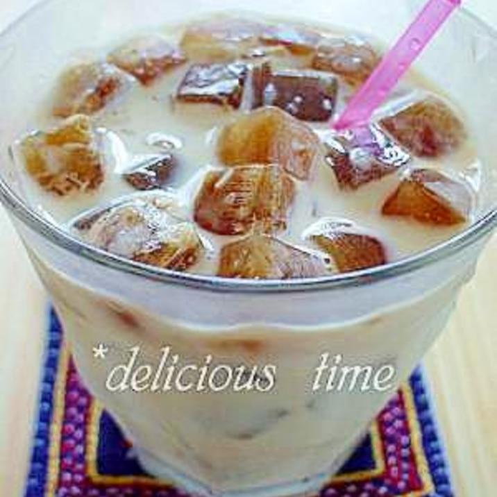 おうちカフェ♪氷コーヒー。