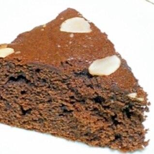 ホットケーキミックスのココアケーキ