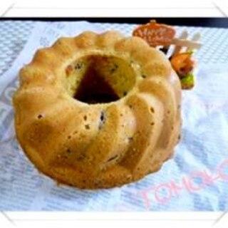 栗の渋皮煮を使って、マロンたっぷり秋のバターケーキ