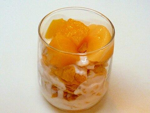 塩糀入りハチミツヨーグルトのサンデー