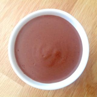 コーンスターチと卵で簡単チョコプリン