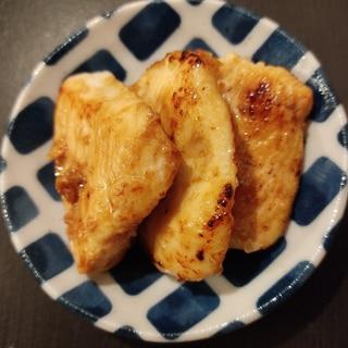 お弁当に☆鶏むね肉の塩麹焼き