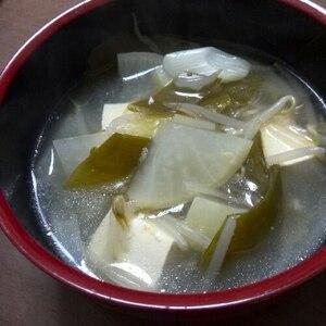中華風★とろとろ湯豆腐