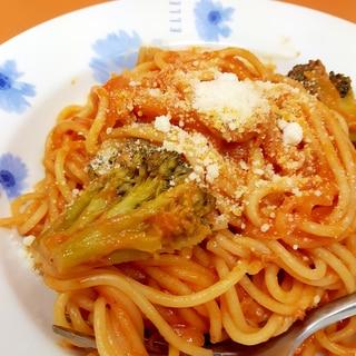 炊飯器で!(^^)ツナ缶のトマトクリームパスタ♪