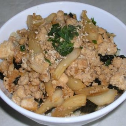 ごぼうもプラスして★ご飯の上にのせていただきましたが、ご飯がすすむ~、すすむ~!お豆腐大好きなので、一つレシピが増えて嬉しいです♪美味しいレシピをありがとう~♪