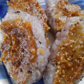 甘味噌が美味しい…きりたんぽ