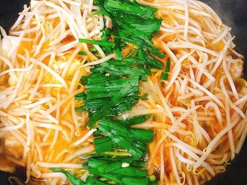 キムチの素で作る我が家のフライパンキムチ鍋