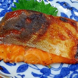 サクラマス一夜干し☆ ピリ辛「味噌焼き」