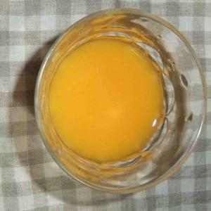フレッシュ、みかんの生ジュース