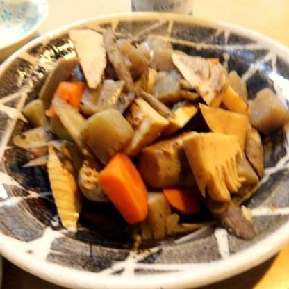 人参やごぼうなどの根菜も一緒に★美味しかったです。