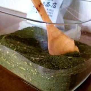 ♪緑茶♪頂き物の残った緑茶を簡単に沢山使う方法♪