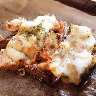 リメイク!焼きハタハタの山椒チーズ焼き