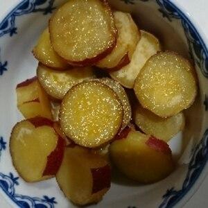 秋といえば♪さつまいもの蜂蜜レモン煮